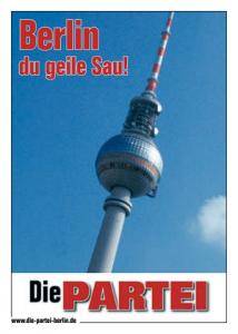 Berlin, du geile Sau!