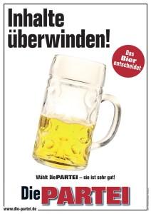 Bier Inhalte ueberwinden